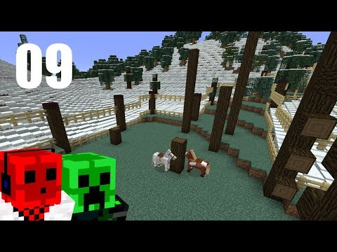 EQUINE AGILITY | 2017 Minecraft Christmas ADVENTure Map | Day 9