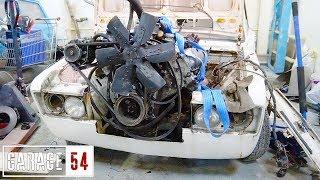 Двигатель от ЗИЛа (7 литров) в ЖИГУЛИ - ПЕРВЫЙ ЗАПУСК