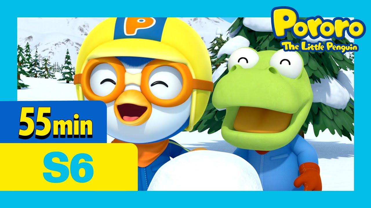 Super Eddy's Super Fiasco! and more (55mins) | Pororo the little penguin | Season 6