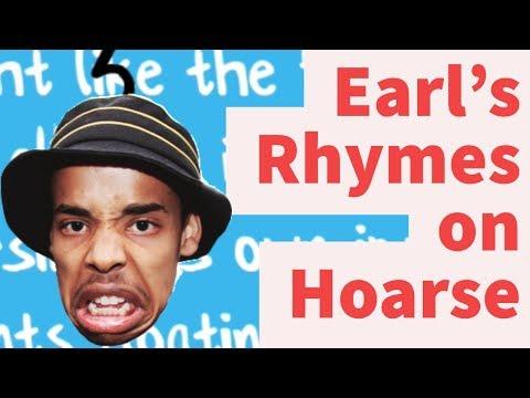 Rap Tips from Earl Sweatshirt's Hoarse- Rhyme Schemes Analysis