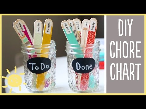 DIY | Chore Charts (cute and easy!!)