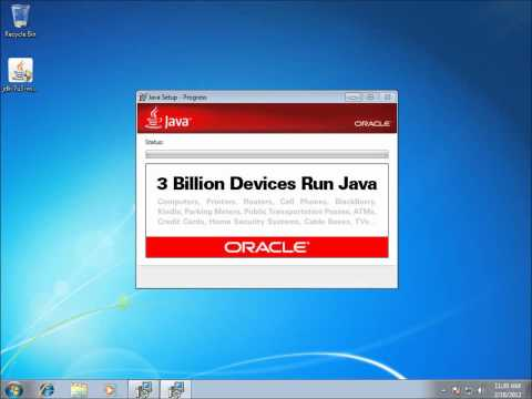 Android: Getting Started Part 1 - Installing the Java JDK on Windows 7