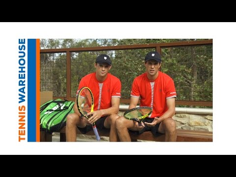 Bryan Brothers talk about Natural Gut tennis string