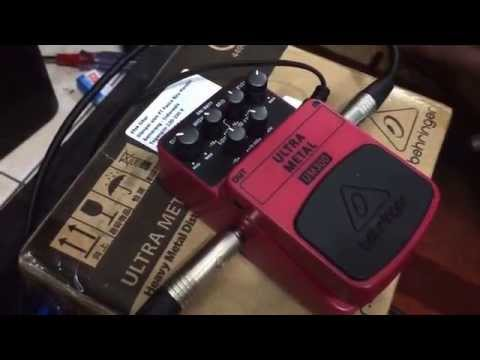 Behringer UM300 Check Sound ( Ultra Metal )