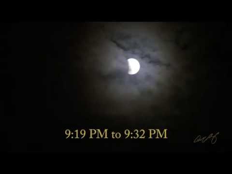 Lunar Eclipse 9 27 15 Time Lapse