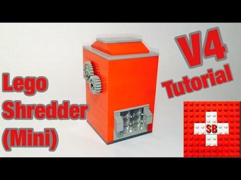 Lego Shredder V4 (Mini) Tutorial