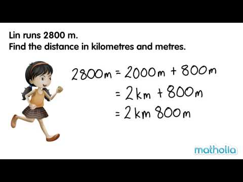 Converting Lengths (Meters and Kilometres)