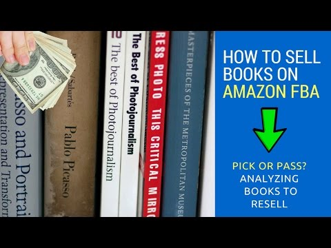 Pick or Pass? Analyzing Books To Sell On Amazon FBA For Beginners