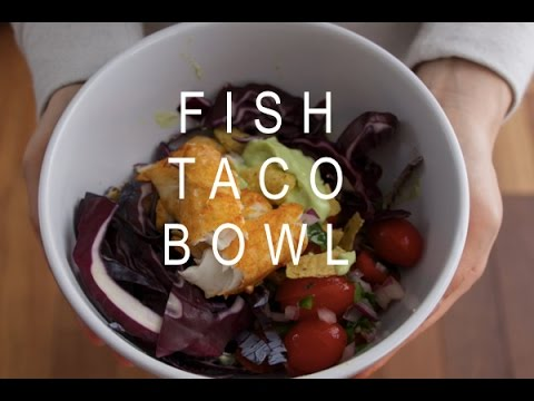 Healthy Recipe: Fish Taco Bowl