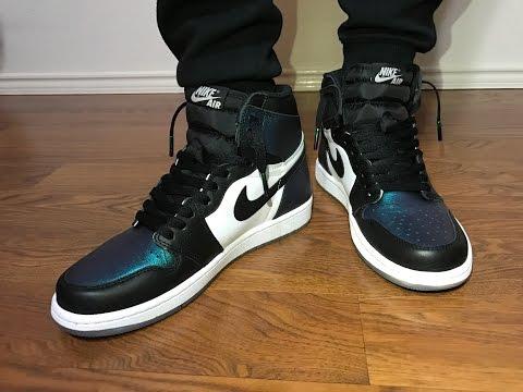 Jordan Retro 1 OG ASG Gotta Shine on feet review
