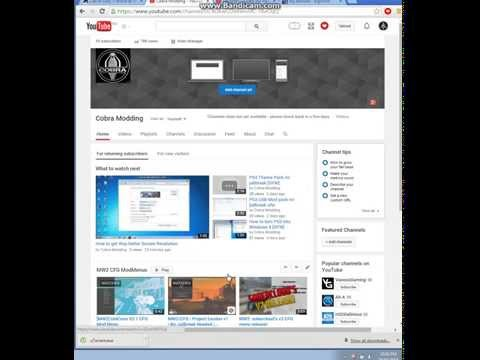 How to change your YouTube Channel Layout