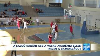 2019.09.23. A Salgótarjáni KSE a Vasas Akadémia ellen kezdi a bajnokságot