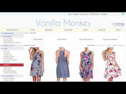 Wholesale Clothing Vanilla Monkey   Product Sourcing 101