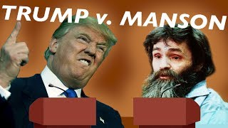 Trump v. Manson: How Our President Answers Questions like a Cult Leader