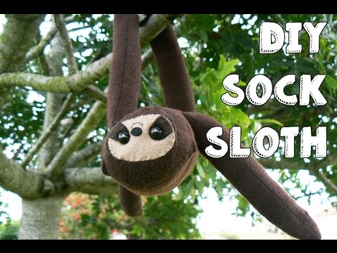 DIY Sock Sloth | LDP