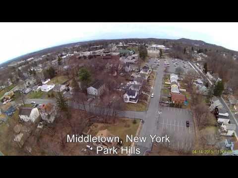 MIDDLETOWN NEW YORK PARK HILLS DESDE ARRIBA