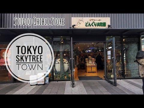 TOKYO TRIP- Tokyo Skytree Town & Pokemon Center
