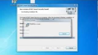 شرح تثبت Eset Nod32 Smart Security 5
