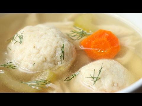 Slow-Cooker Matzo Ball Soup