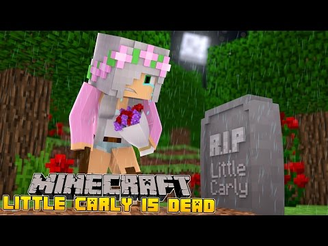 Minecraft - VISITING LITTLE CARLYS GRAVE!