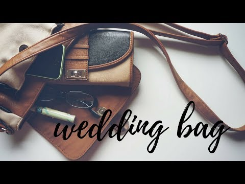 How To Pack Your Bag For The Wedding Ceremony