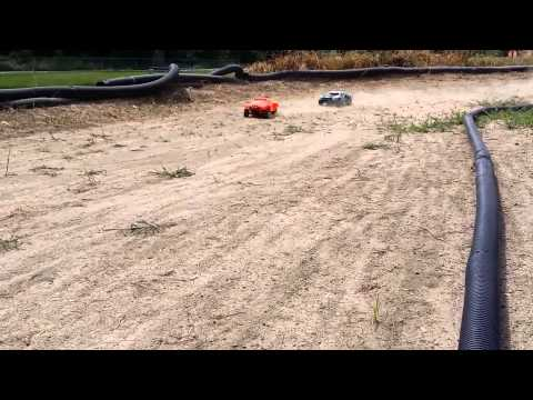 1/10th Short Course dirt oval