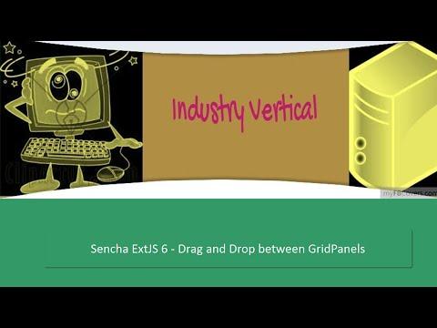 Sencha ExtJS 6 - Drag and Drop between GridPanel