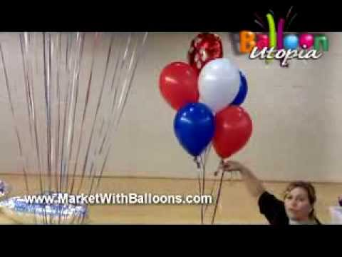 How to Make a Tiered Balloon Bouquet