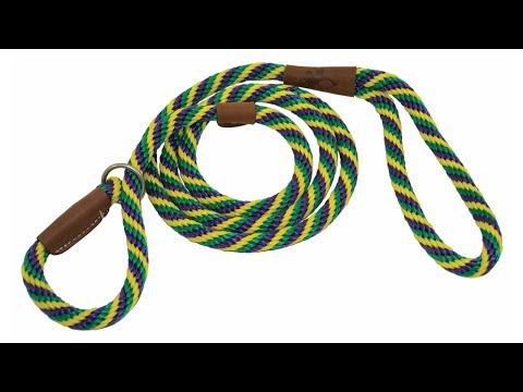 Rope and Leather Slip Leashes at J&J Dog Supplies