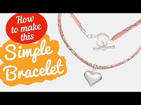 How to make this Liberty Capel S bracelet | Simple Bracelet Tutorial
