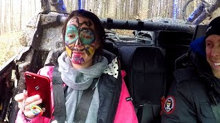 Off Road Face Painting Challenge!!