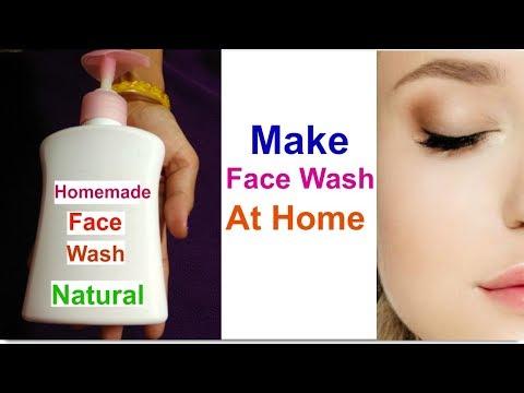 DIY Skin Lightening Face Wash At Home//Skin Whitening & Clear Skin  Foaming Face Wash / 100% Natural