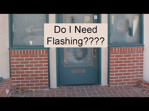 How to Install Flashing Over Exterior Masonry Walls to Prevent Building Damage