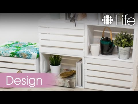 Stackable Wood Crate Storage | CBC Life