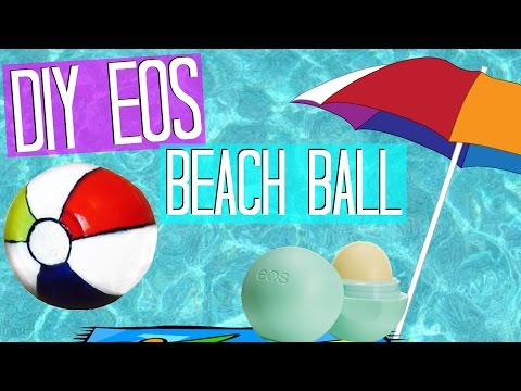 DIY EOS Beach Ball - MUST HAVE FOR SUMMER!