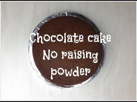Chocolate cake no baking powder. Gâteau au chocolat sans levure.
