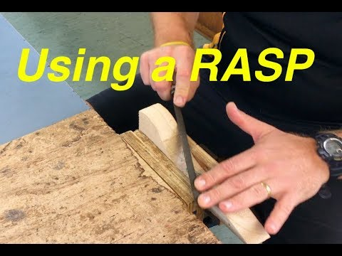 Co2 Dragsters - Lesson 3 - Using a rasp to shape your dragster body