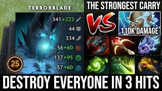 Reason Why Terrorblade is Still the Strongest Carry in Meta | Crazy 9Items God Vs 110k Damage Zeus