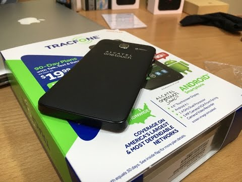 Alcatel OneTouch Sonic Unboxing: A DECENT $20 smartphone
