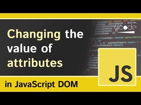 Element.setAttribute() - Javascript DOM