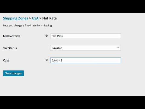 Introducing Shipping Zones in WooCommerce 2.6