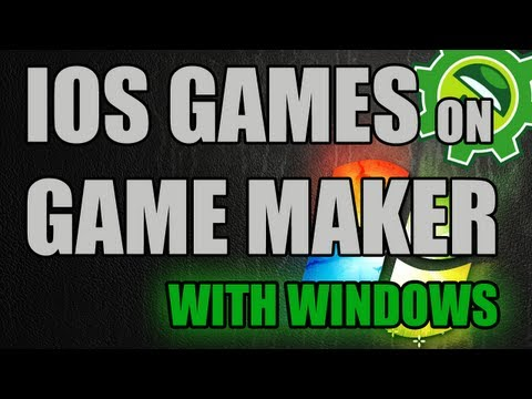 Game Maker Tutorial - Make IOS Games With Windows