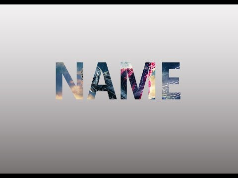 How to create an Amazing text effect in photoshop cc for beginners very easy