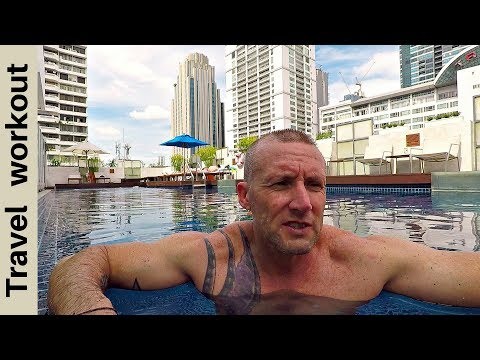 Bangkok: Working out in a 5 Star Hotel - How to stay fit while travelling #2