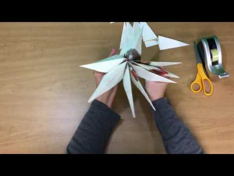 How to Make a Paper Star From an Old Book Page