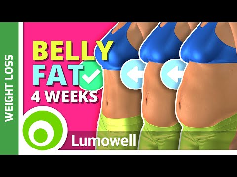 5 Exercises To Lose Belly In 4 Weeks | Flat Stomach Workout