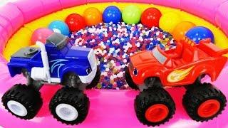 Download Erkek çocuk oyuncakları. Canavar Blaze ve Crusher Video