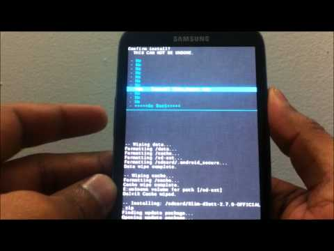 How to install Slim Bean ROM for AT&T Samsung Galaxy S3 (d2att)