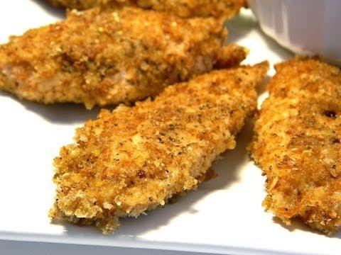 Healthy Breaded Chicken Tenders