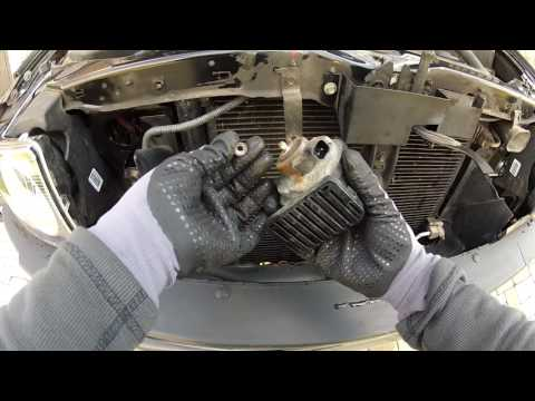How To Replace Horn on truck Hummer H3